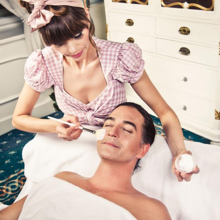 Kosmetikbehandlung für Männer